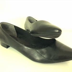 Rockport Pointed Leather Flats